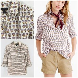 J.Crew Gathered Popover in Indian Cotton, 2